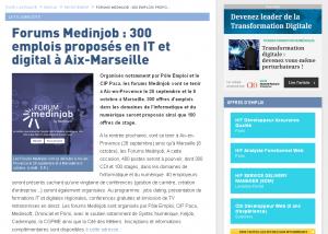 Le Monde Informatique du 15 juillet 2015